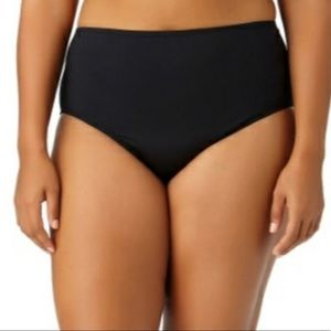 Liz Claiborne Plus Bikini/Tankini High Cut Brief